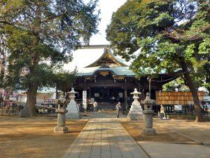 都心の中の静寂、歴史を感じさせるパワースポット鬼子母神堂へは物件から徒歩約3分です。