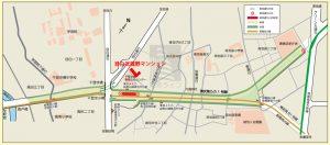 現在明治通りはバイパス道路を工事中。完成すると明治通り・川越街道から新宿渋谷方面へ向かう車が池袋駅周辺の混雑を避けてバイパスへ流れるとみられ、物件に隣接する明治通りは大幅な交通量の減少が見込まれ、この物件も今よりは通りの音が静かになることが期待できます。
